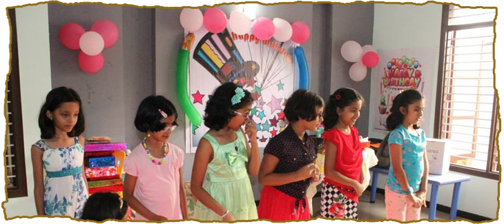 birthday parties hall